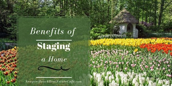 benefits of staging a home