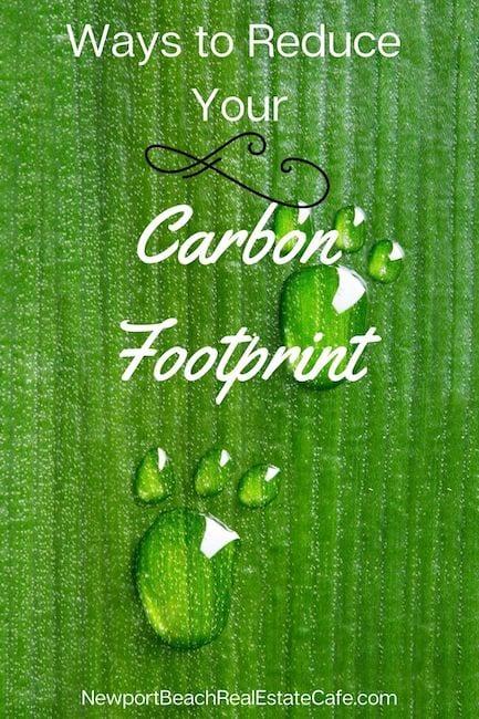 Ways to Reduce Carbon Footprint