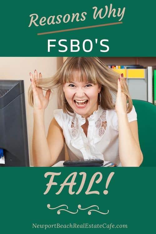 Reasons why FSBO's Fail