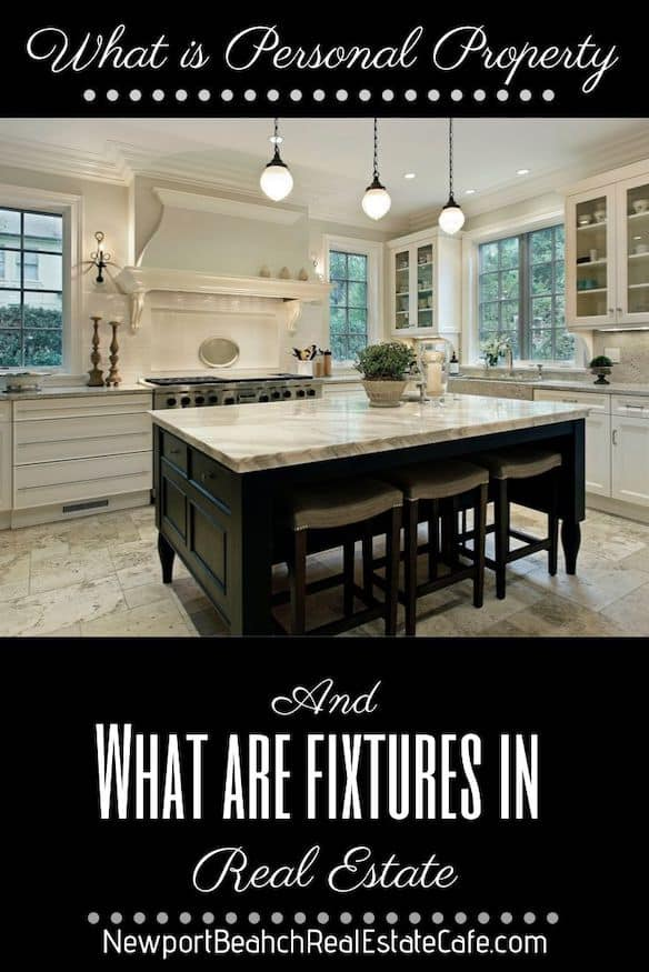 What are fixtures in real estate