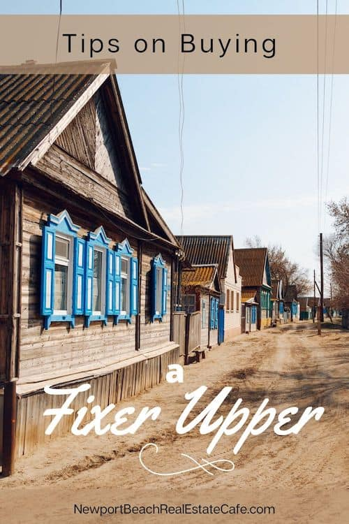 Tips on Buying a Fixer Upper