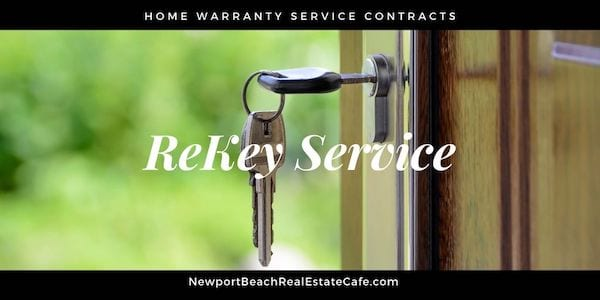home warranty service contracts rekey