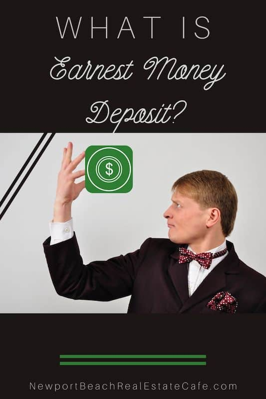 What is Earnest Money Deposit Versus a Down Payment