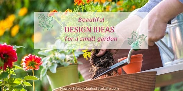 Beautiful design ideas for a small garden