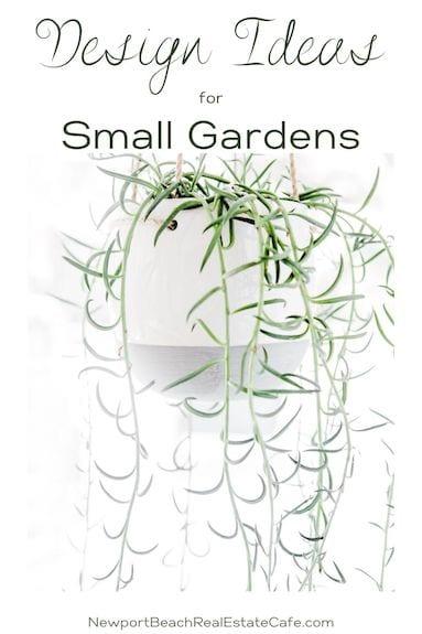 Design Ideas for Small Garden areas