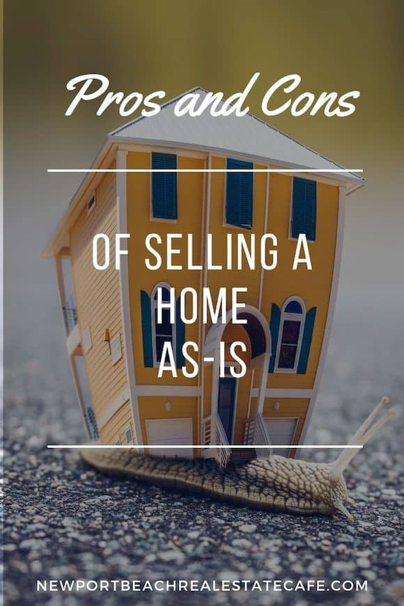 Selling a Home As-Is