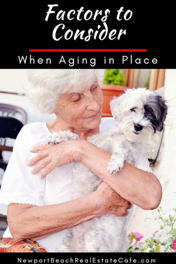 Factors to Consider When aging in place