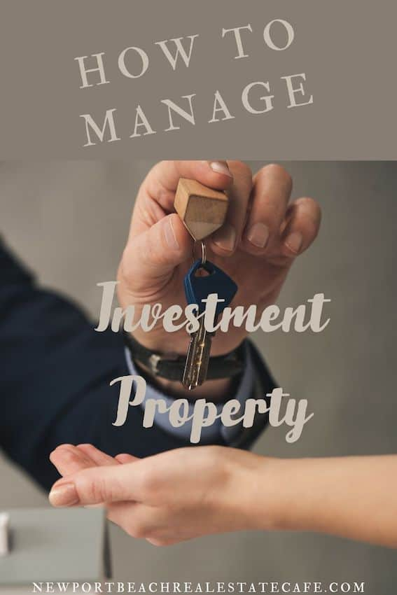 Manage your investment property