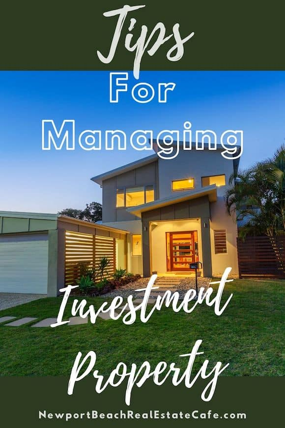 Tips for managing investment property