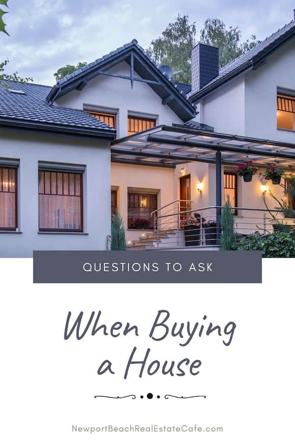 Questions to ask When Purchasing a Home