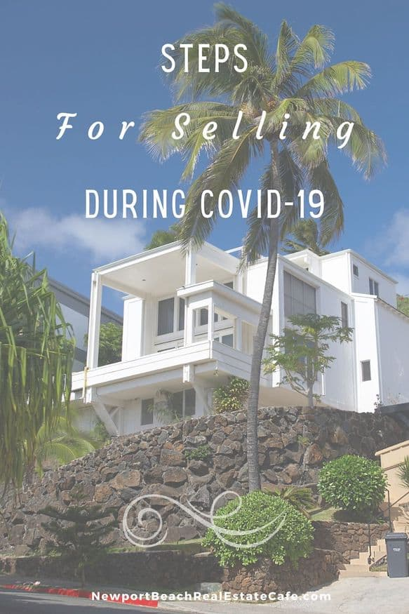 steps to sell during covid