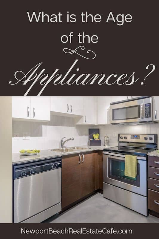 what is the age of the appliances