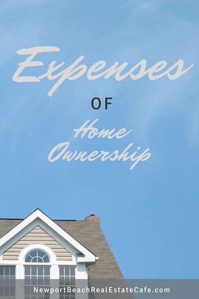 Expenses of Home Ownership
