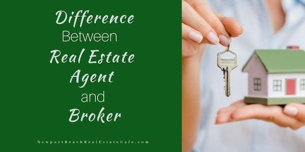 Real estate agent and broker