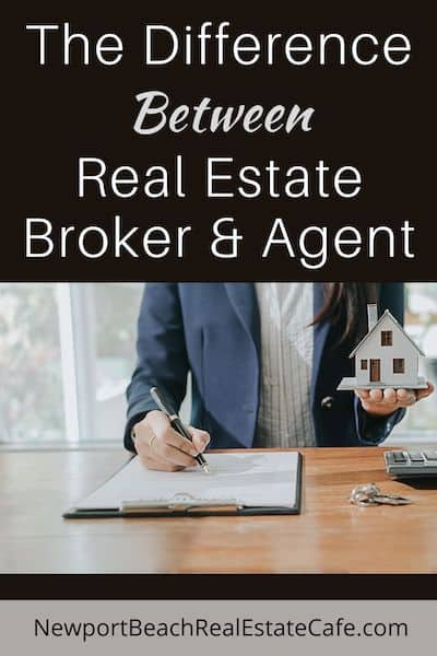 The Difference between a Real Estate Broker and Agent