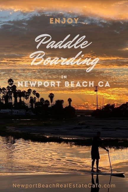 Where to Paddleboard in Newport Beach CA
