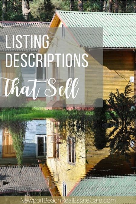listing descriptions that sell homes