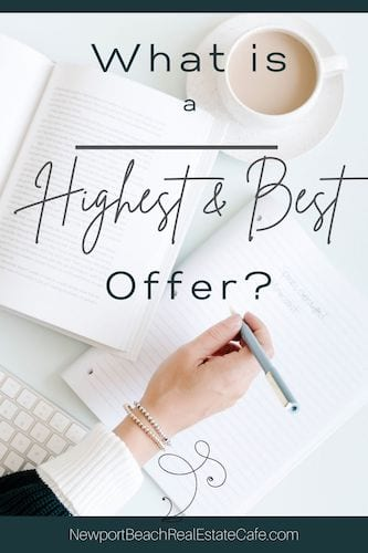 What is Highest and Best Offer