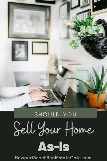 What is the Process of Selling Your House As-Is