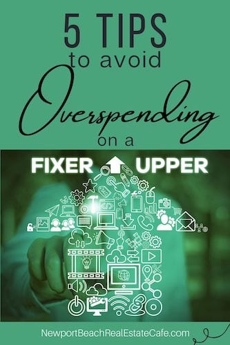 5 tips to avoid overspending on a fixer-upper