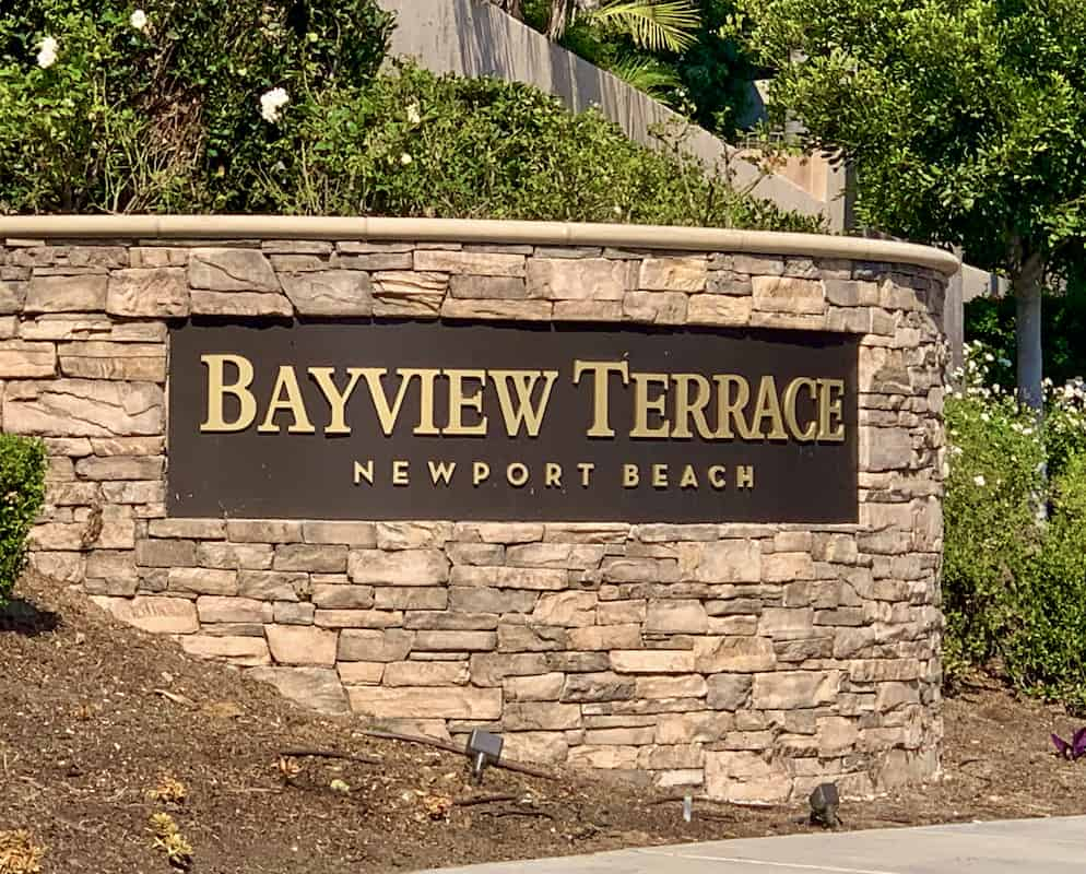 Bayview Terrace in Newport Beach