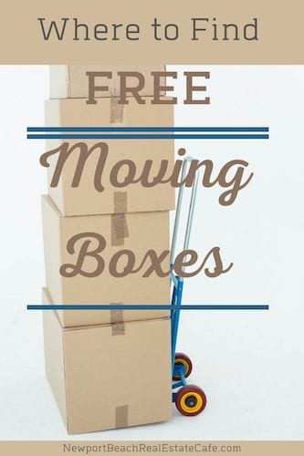 Where Can you find free moving boxes_