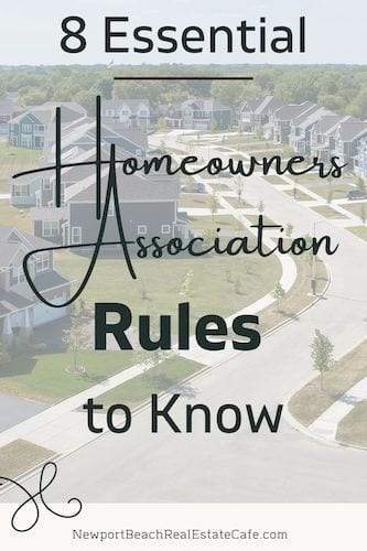 homeowners association rules