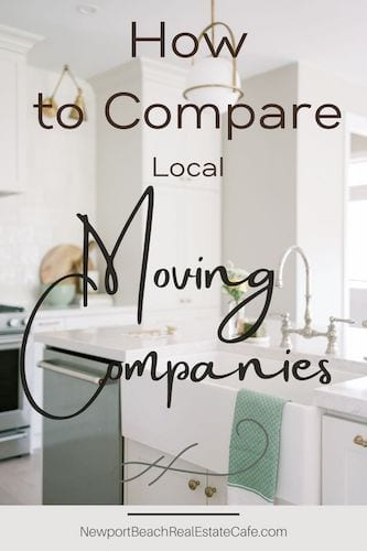 Compare Local Moving Companies