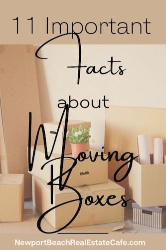 Facts about moving boxes