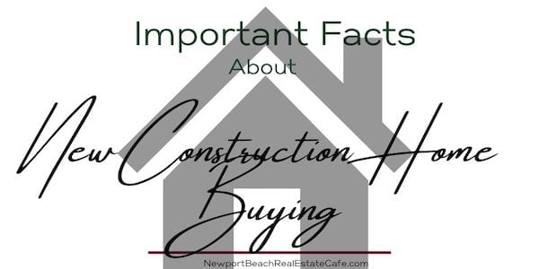 new construction home buying