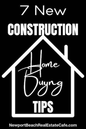 new construction home buying tips