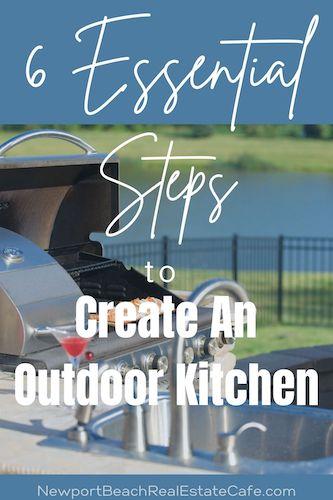 amazing outdoor kitchen