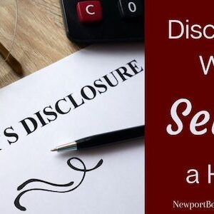 Disclosures when selling a home