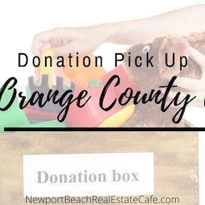 Donation Pick Up IN Orange County CA