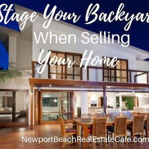 Stage your backyard to sell