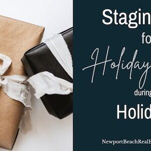 Staging tips for holiday decor