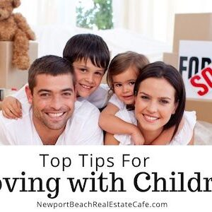 Top Tips for moving with children