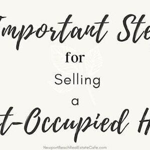 sell a tenant occupied home